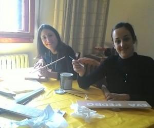 Alba Cobos Sánchez y MariLuz Antón Hinojar